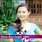 Miss Anda Wins Social Media Award in Miss Bohol 2014