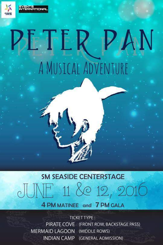 West End Theater Artists to Perform in Cebu; Peter Pan: A Musical Adventure